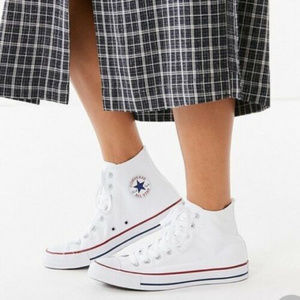 Converse All Star Classic White Hight Top 7